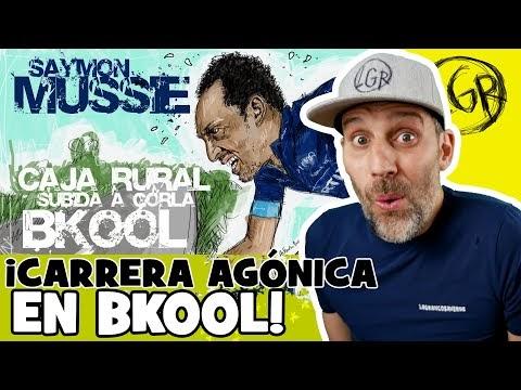 LA AGÓNICA CARRERA del CAJA RURAL en BKOOL... con SAYMON MUSSIE. Subida a Gorla 2020 - Alfonso Blanco