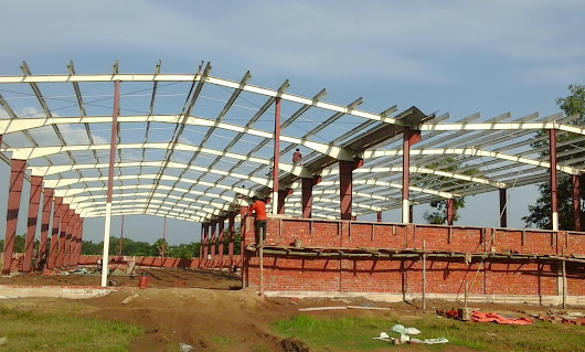 Primary framing components of pre-engineered steel buildings