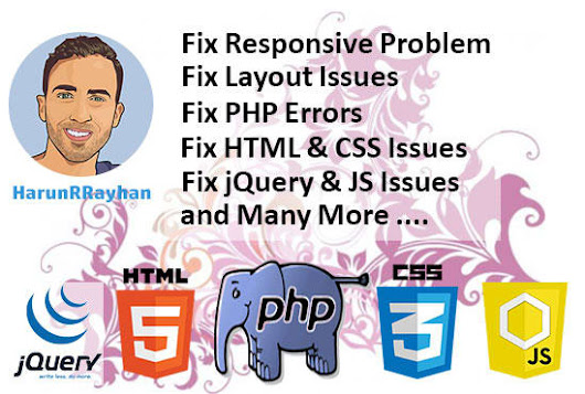 I will fix html, css, php and js errors in 24 hours
