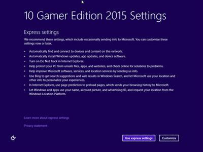 Windows 10 Gamer Edition - X64 - X86 - 2015 - DiLshad Sys (Freeware Sys) TEAM OS