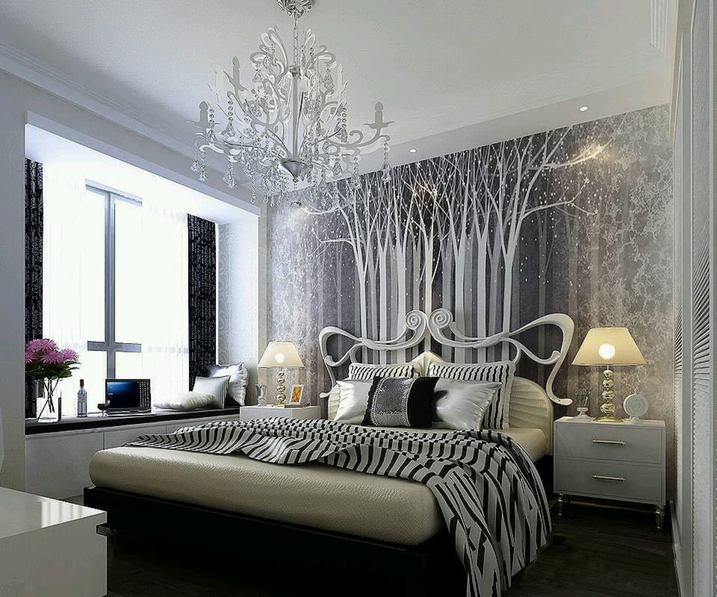 Romantic Bedroom Ideas for New Family - Bee Home Plan ...