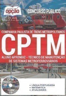 Apostila CPTM Aluno Aprendiz - Paulista de Trens Metropolitanos (SP)