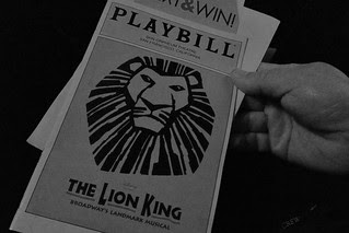 The Lion King - Programme