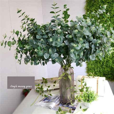 Artificial Leaves Branches Simulation Plant Eucalyptus