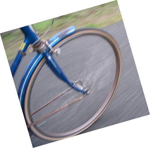 Wheel in motion
