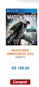 WATCH DOGS - SIGNATURE ED. (PS3)