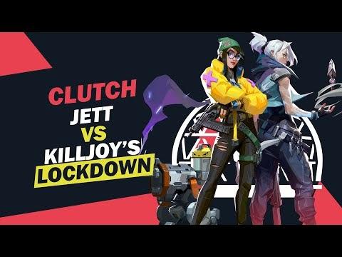 Jett's Clutch vs Lockdown   Valorant