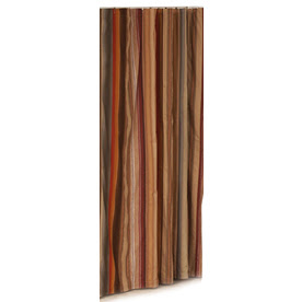 Shop METRO LUXE Polyester Multicolor Striped Shower Curtain at Lowes.