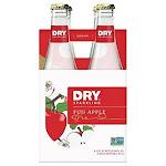 Dry Soda, Fuji Apple Dry Sprkl 4Pk - 48 Fo -PACK 6