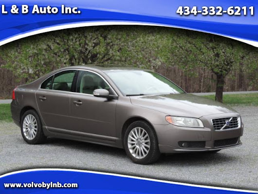 Used 2008 Volvo S80 3.2 FWD for Sale in Rustburg VA 24588 L & B Auto Inc.
