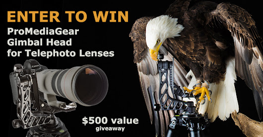 Enter to win $500 Telephoto Gimbal from ProMediaGear