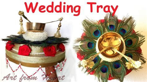 DIY   How to make decorative Wedding Tray. Plate? Wedding