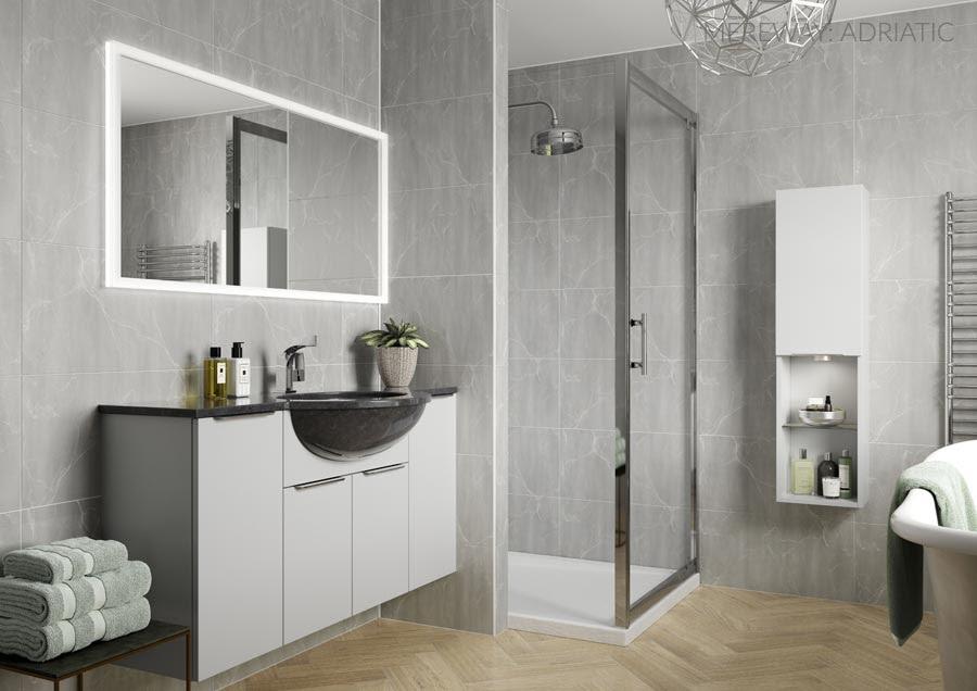 Bathrooms: Mereway – Avon Kitchens and Bathrooms