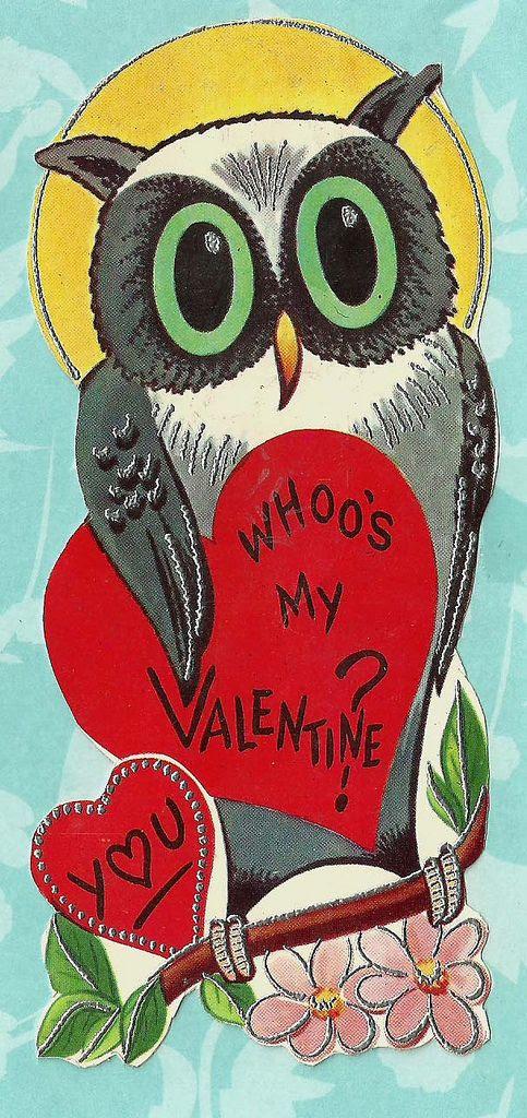 Vintage Valentine Greeting Card | Flickr - Photo Sharing!