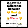 The Difference Between Hurt And Harm • Endurance on 8th Health Centre
