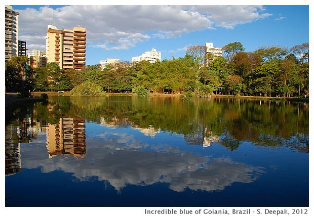 Bosque do Buritis lake, Goiania, Brazil