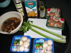 Mushroom soup meez