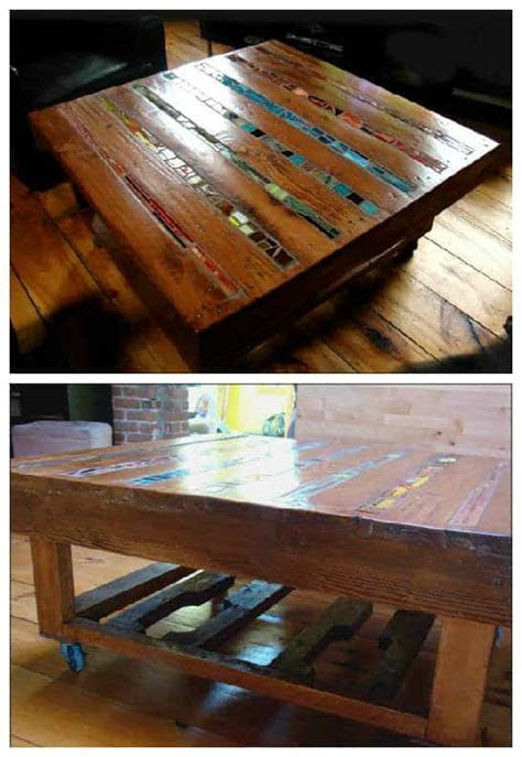 Mosaic Pallet Coffee Table ? 1001 Pallets