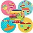 Amazon.com: Fiesta Party Sticker Labels - Set of 50: Handmade