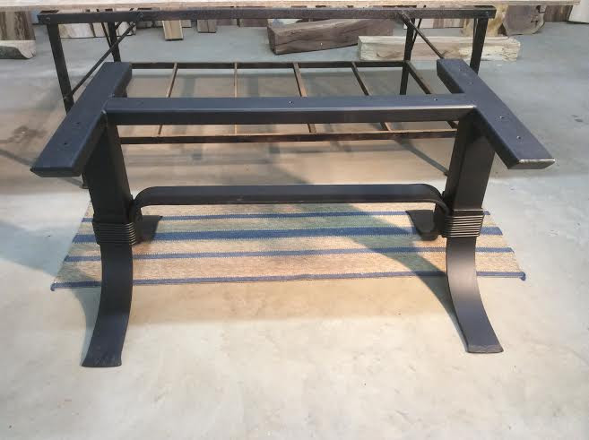Steel Dining Table Base. Ohiowoodlands Metal Table Legs. Dining Table Legs, Dining Table Base