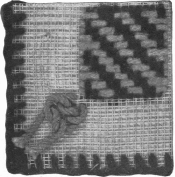 Model 22. French Hem, And Darning On Table Linen