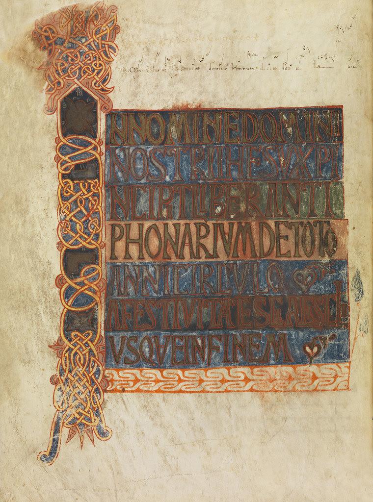 Visigoth Antiphonal (Catedral de León) j