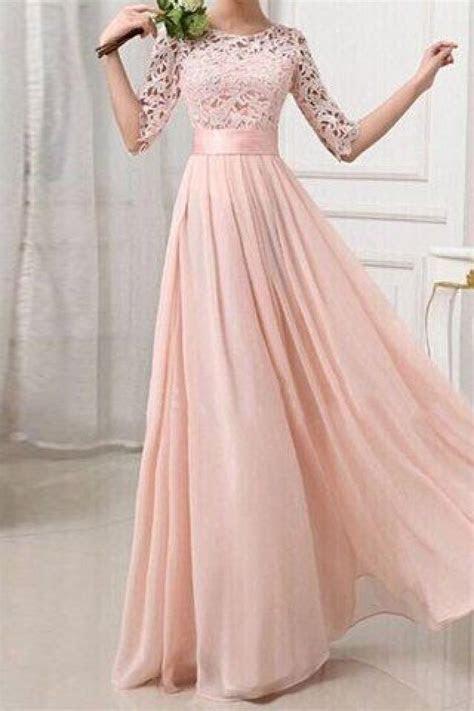 Long Bridesmaid Dress, Lace Bridesmaid Dress, Cheap Prom