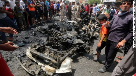 ISIS says it's behind deadly Iraq blasts