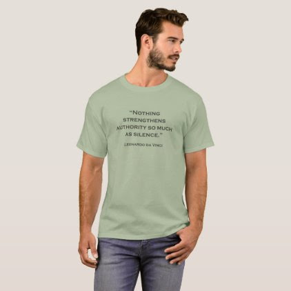 Quote Leonardo da Vinci 06 T-Shirt