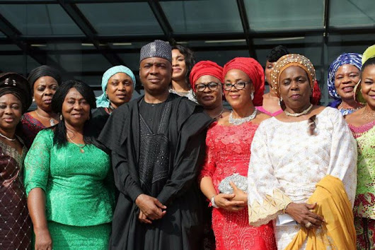 Senate President Saraki Says He Wants More Women To Hold Political Office (Photos) | Pyradic.com
