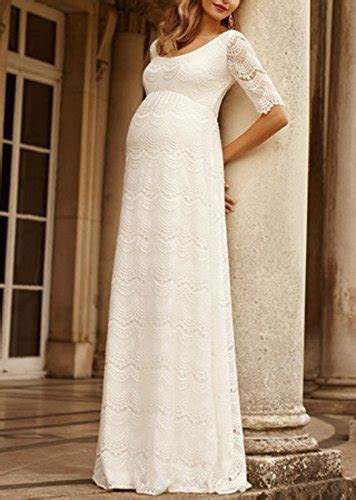 Maternity wedding dresses for pregnant brides who don't