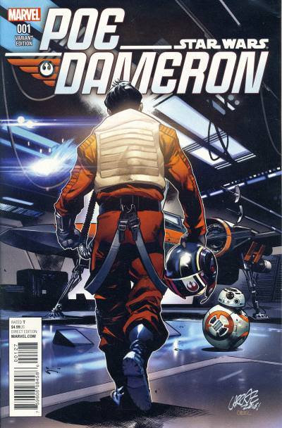 Classic Cover Comparison: Star Wars: Poe Dameron #1 My Geek Box Exclusive and Poe Dameron #1 Calgary Expo Exclusive