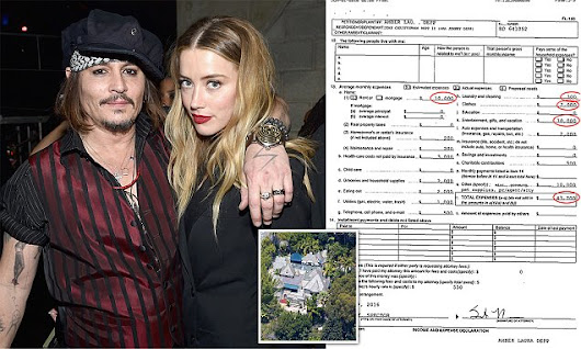 Amber Heard's dire financial situation is revealed