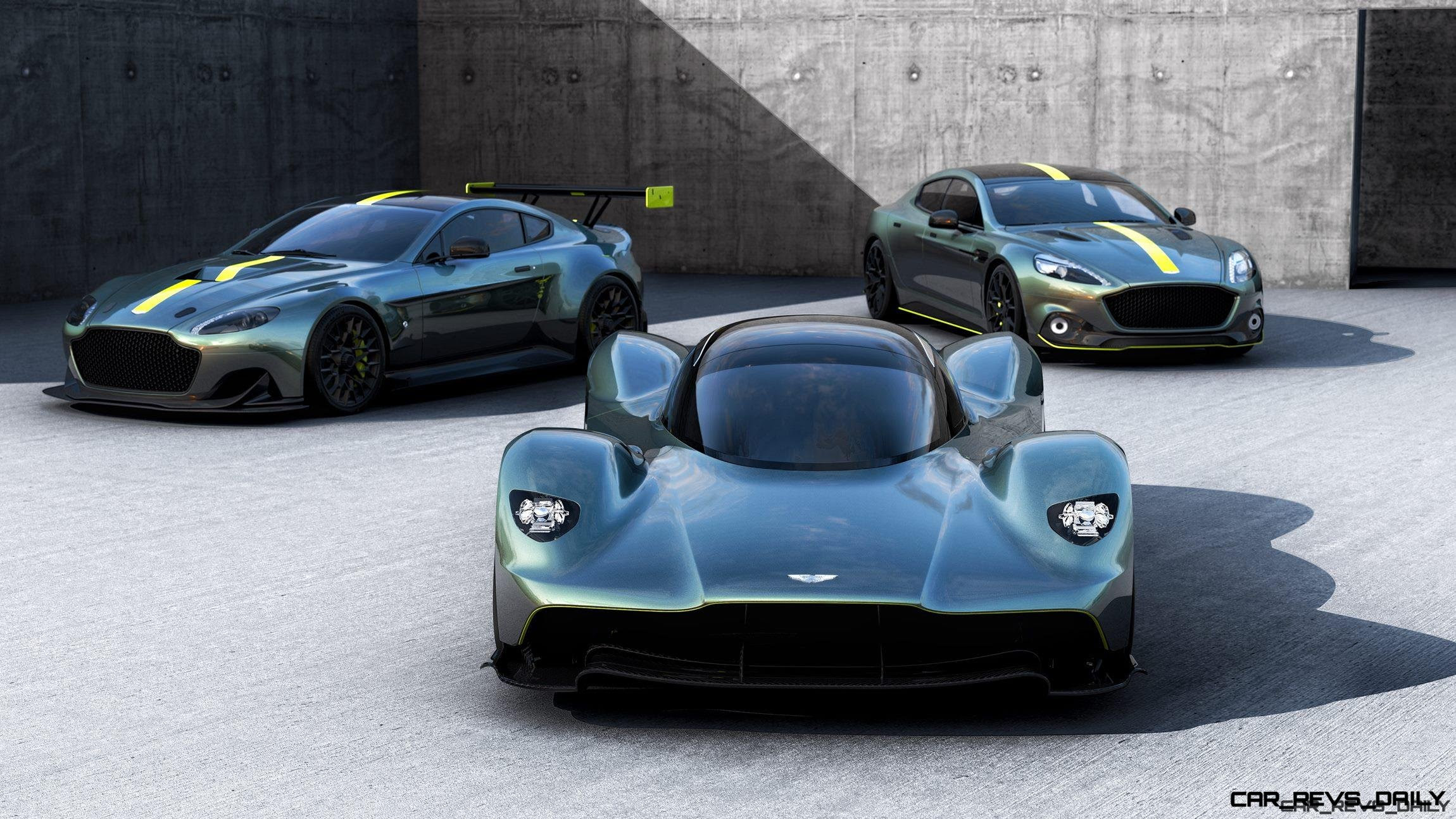 Aston Martin Unveils Valkyrie Rapide Amr And Vantage Amr Pro Video 60 Pics Latest News Car Revs Daily Com