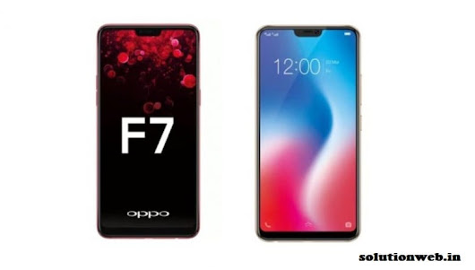 Oppo F7, Vivo V9:First Sale Tomorrow: Price in India, Specifications, Features - SolutionWeb