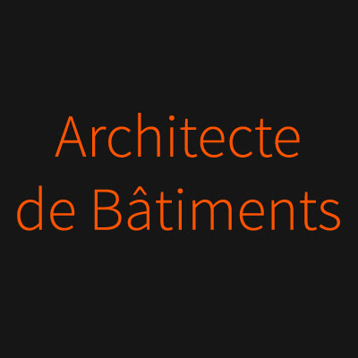 Architecte de Bâtiments
