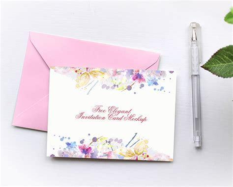 27  Invitation, Greeting Card & Postcard Mockups (Free