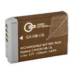 Green Extreme NB-13L Lithium-Ion Battery Pack (3.7V 1250mAh) GX-NB-13L