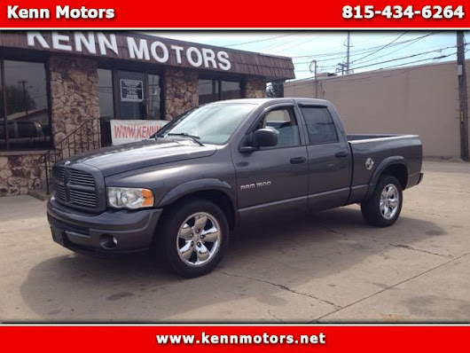 Used 2003 Dodge Ram 1500 Laramie Quad Cab Long Bed 2WD for Sale in Ottawa IL 61350 Kenn Motors
