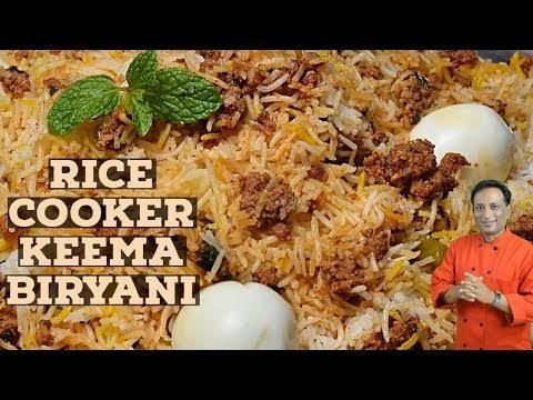Cooker Mutton Kheema Biryani Recipe