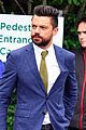 dominic cooper suits up for first day of wimbledon 02