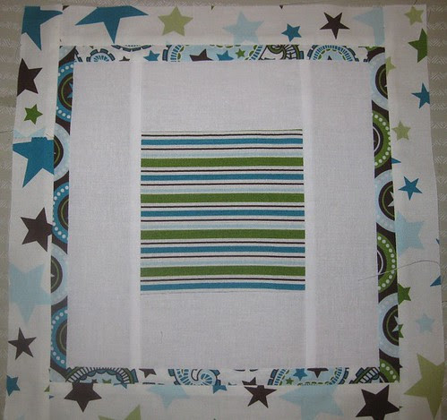 Block 1 for All Star 2 Bed Quilt