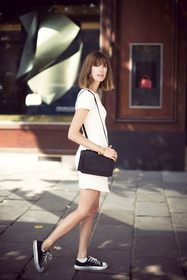 Le Fashion Blog Long Bob White Asymmetrical Dress Leather Bag Gold Bracelets Black Converse Sneakers Via Into Your Closet photo Le-Fashion-Blog-Long-Bob-White-Asymmetrical-Dress-Leather-Bag-Gold-Bracelets-Black-Converse-Sneakers-Via-Into-Your-Closet.jpg