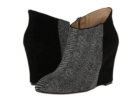 Chinese Laundry - Kristin Cavallari - Cai (Black/White Lizard) Women's Dress Zip Boots