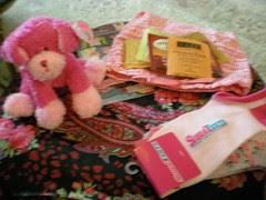 Pink Swap goodies