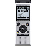 Olympus - WS-Series Digital Voice Recorder - Silver