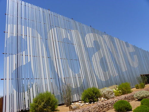 Agave Library - sign