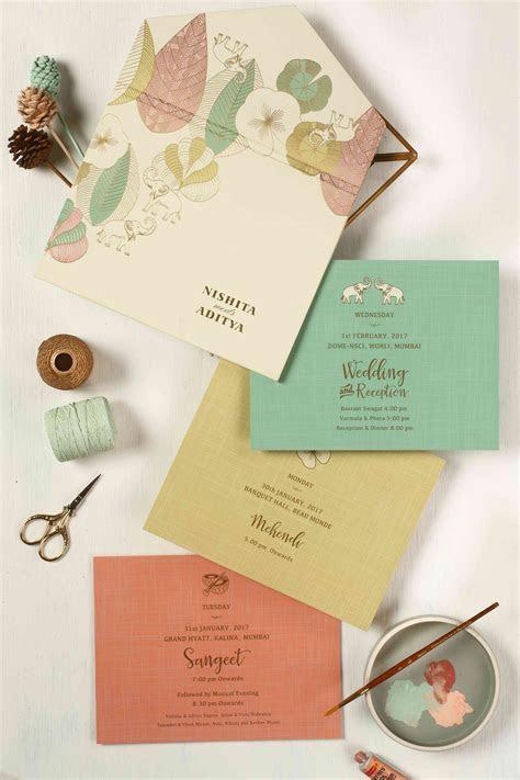 The Best Indian Wedding Card Designs We've EVER Seen
