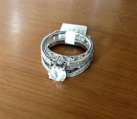 Diamonds Antique Vintage Cathedral Ring Guard Solitaire