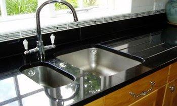 Dekorasi Desain Dapur Granit Hitam Terbaru